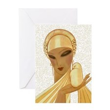 Serenity, Peace, Love Greeting Cards
