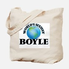 World's Sexiest Boyle Tote Bag