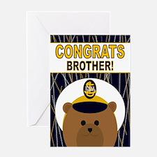 Usna Congrats Brother Graduation Greeting Cards