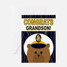 Usna Congrats Grandson Greeting Cards