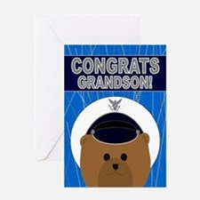 Grandson - Air Force Academy Greeting Card