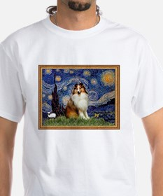 Starry Night & Sable Sheltie Shirt