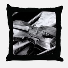 Back Stage Throw Pillow