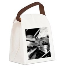 Back Stage Canvas Lunch Bag