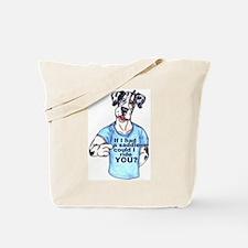 If I Had A Saddle Tote Bag