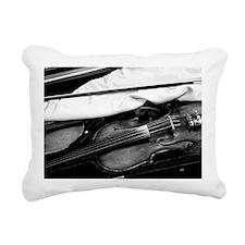 Violin Rectangular Canvas Pillow
