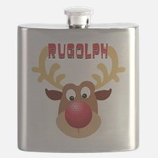 Rugolph The Reindeer Flask