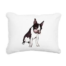 dog.png Rectangular Canvas Pillow