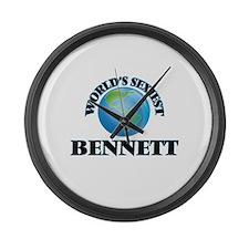 World's Sexiest Bennett Large Wall Clock