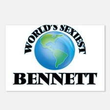 World's Sexiest Bennett Postcards (Package of 8)