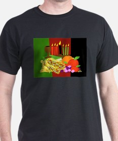 kwanzaa_card.png T-Shirt