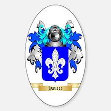 Hauser Sticker (Oval)