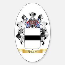Hauser 2 Sticker (Oval)