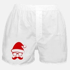Hipster Christmas Boxer Shorts