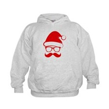 Hipster Christmas Hoodie