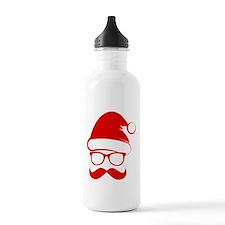 Hipster Christmas Water Bottle