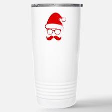 Hipster Christmas Travel Mug