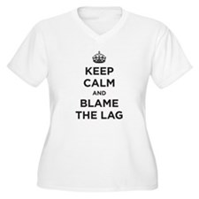 Blame the Lag Plus Size T-Shirt