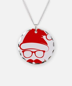 Hipster Christmas Necklace