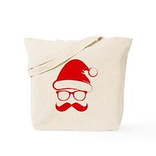 Hipster Christmas Tote Bag