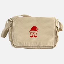 Hipster Christmas Messenger Bag