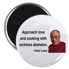 Dalai Lama 10 Magnet