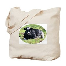 Resting Dairy Cow Tote Bag
