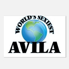 World's Sexiest Avila Postcards (Package of 8)