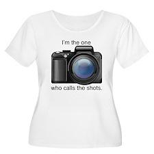 I Call the Shots Plus Size T-Shirt