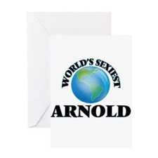 World's Sexiest Arnold Greeting Cards