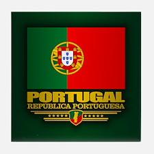 Portugal (v15) Tile Coaster
