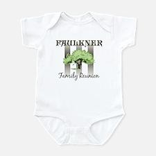FAULKNER family reunion (tree Infant Bodysuit