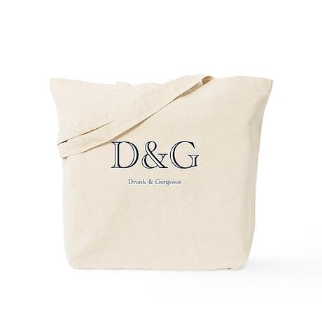 D&G - Drunk & Gorgeous Tote Bag