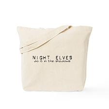 Night Elves Tote Bag