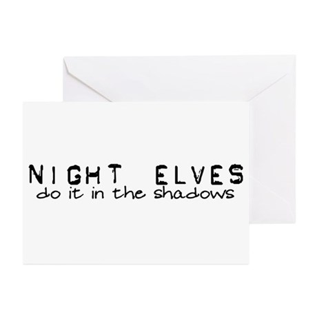 Night Elves Greeting Cards (Pk of 10)