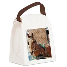 Amish Horse Canvas Lunch Bag