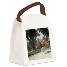 Pinto Amish Buggy Canvas Lunch Bag