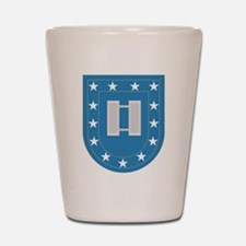 Army Flash Captain Insignia.png Shot Glass