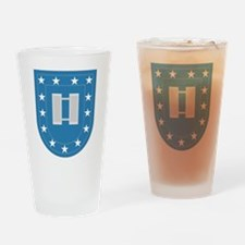 Army Flash Captain Insignia.png Drinking Glass