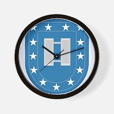 Army Flash Captain Insignia.png Wall Clock