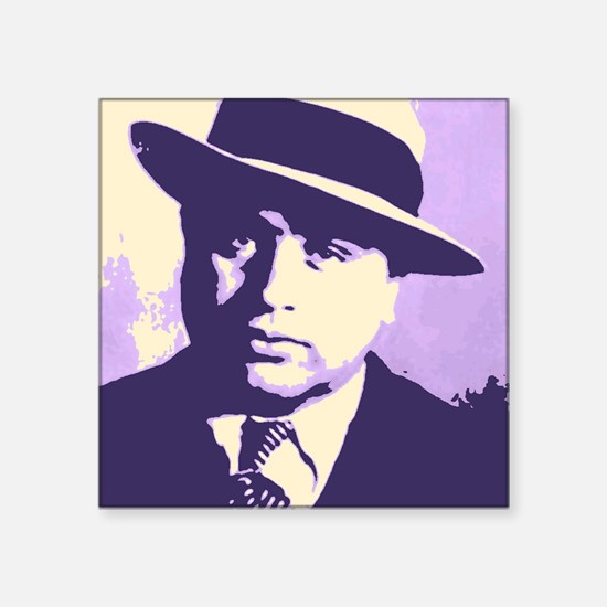 Al Capone Pop Art Sticker