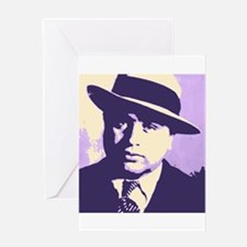 Al Capone Pop Art Greeting Cards