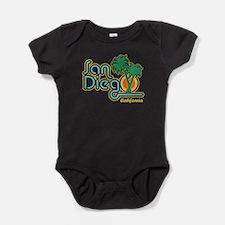 Unique San diego california Baby Bodysuit