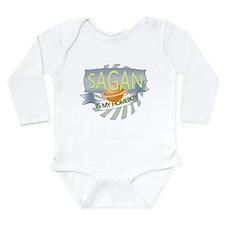 Cute Atheism a Long Sleeve Infant Bodysuit