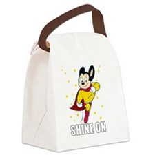 Cute I was born awesome Canvas Lunch Bag