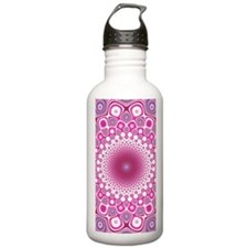 Funky Pink Water Bottle