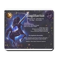 Goddess Sagittarius Mousepad