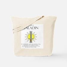 I am a Paladin Tote Bag