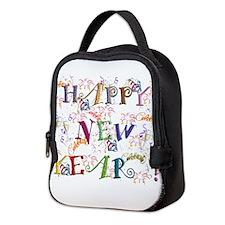 Happy New Year! Neoprene Lunch Bag