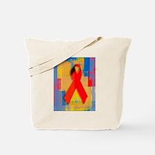 Redribbon.png Tote Bag